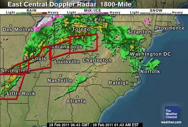 the weather channel doppler radar texas