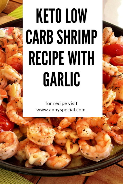 Keto Low Carb Shrimp Recipe With Garlic