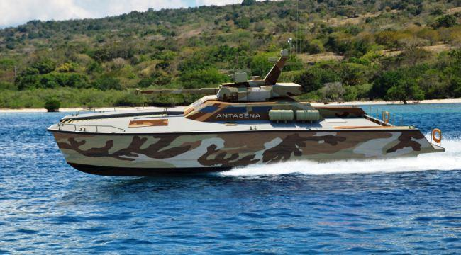 Prototipe atau Purwarupa Tank Boat Antasena