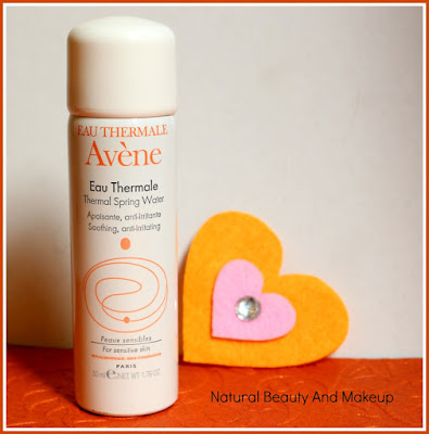 Eau Thermale Avène Thermal Spring Water Review on the blog Natural Beauty And Makeup
