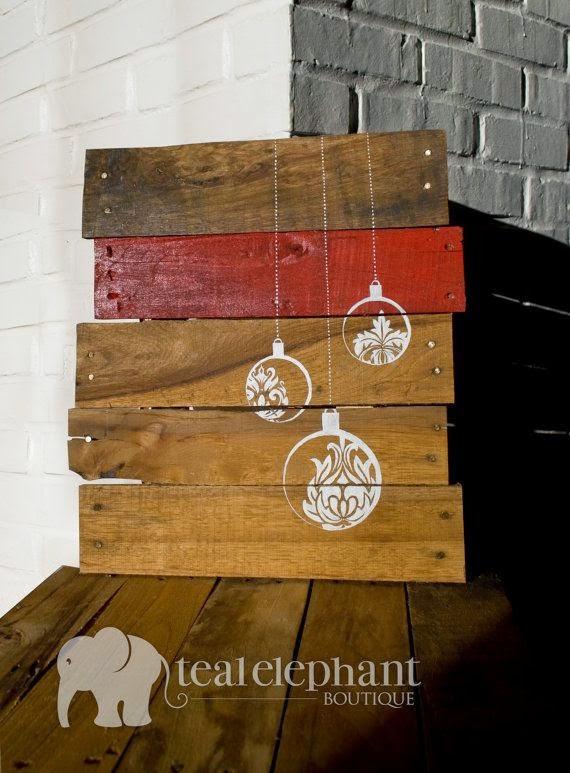 9 Cosas Que Se Pueden Hacer Con Un Palet Para Navidad La - Cosas-que-hacer-con-palets