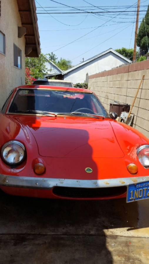 Daily Turismo: Money Pit: 1970 Lotus Europa S2