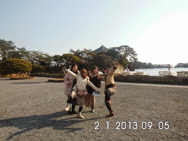 tempat menarik di Sendai