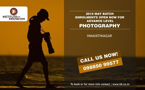 Best Photography Institutes in Hyderabad - Instituto Design Innovation (IDI)