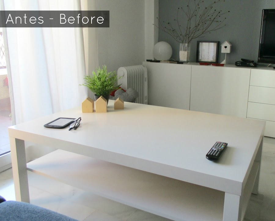Dale un cambio a la mesa lack de ikea bricolaje - Decoracion con ikea ...