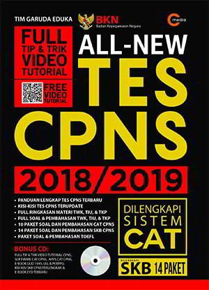 All New Tes CPNS 2018/2019 PDF Penulis Tim Garuda Eduka