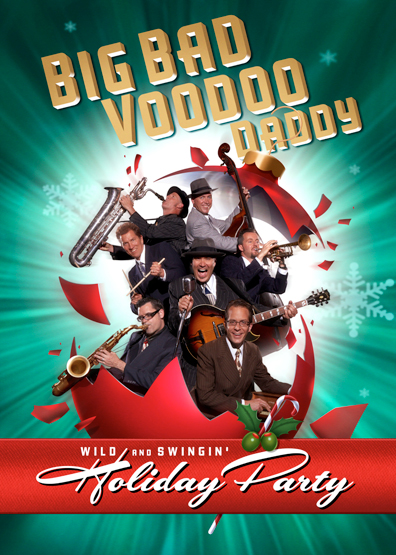 Blogomite Big Bad Voodoo Daddy Christmas Show