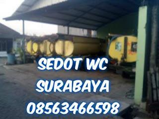 Sedot WC Bangkingan Lakarsantri Surabaya Barat