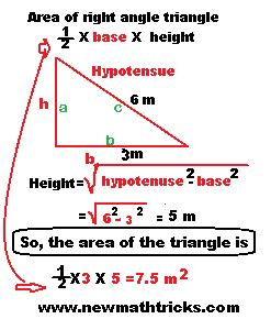 mensuration-formulas-of-triangle-for-area-perimeter-calculation-tricks