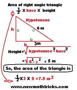 Triangle Mensuration Question Answer with Perimeter Area Formula - New Math Tricks