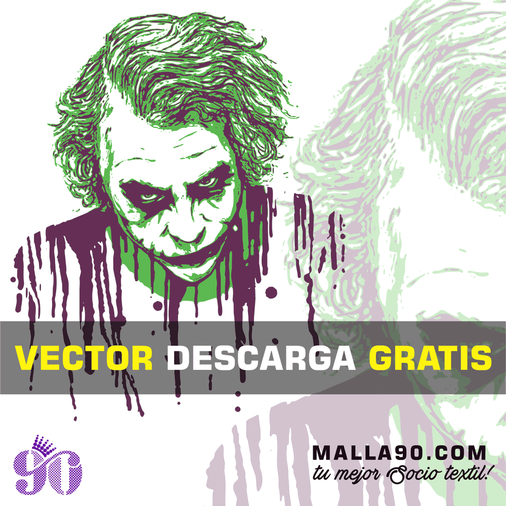 descarga vector joker blood