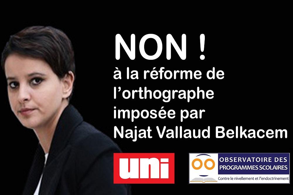 Enseigner larabe à lécole Najat Belkacem porte plainte contre la