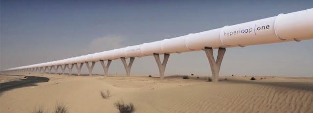 virgin hyperloop-one tunnel