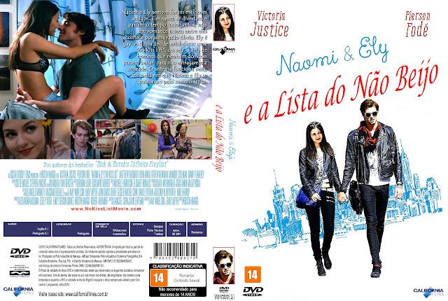 Capa DVD Naomi E Ely E A Lista Do Não Beijo
