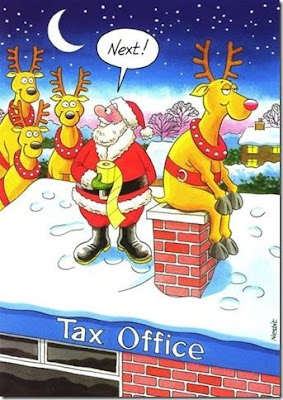 Santa's Present To The Tax Man