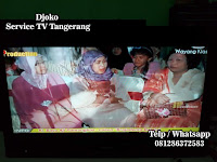 service tv sharp tangerang