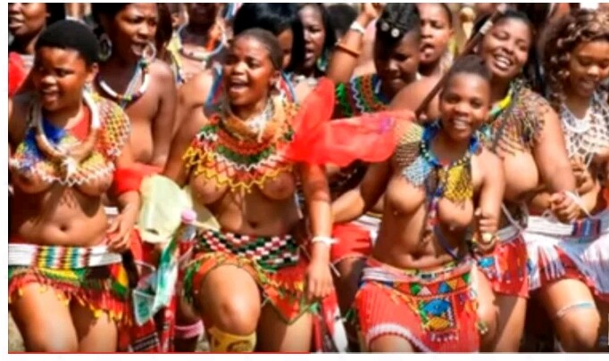 swaziland naked girls