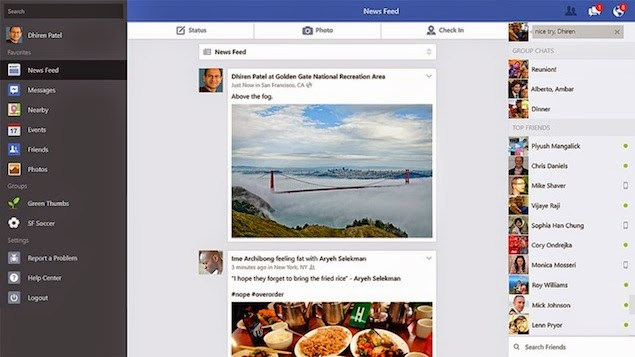 Download Facebook For Windows 8.1