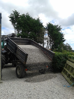 tipping gravel
