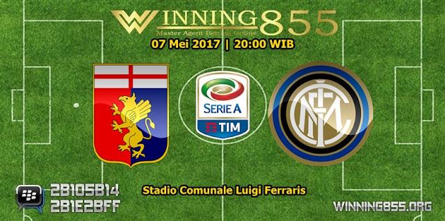 Prediksi Skor Genoa vs Inter Milan 07 Mei 2017