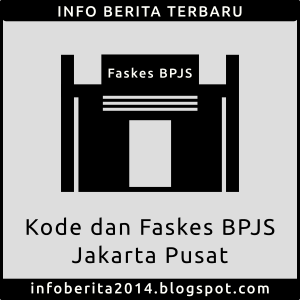 Kode dan Faskes BPJS Kesehatan Jakarta Pusat