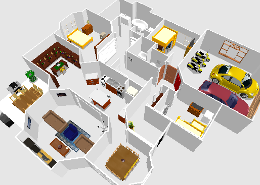 Awesome Sweet Home 3D: Floor Plan Design