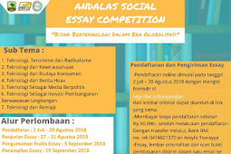 Sociology Fair Andalas Social Essay Competition 2018