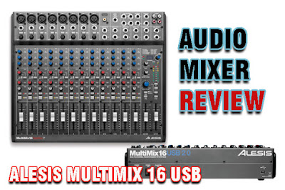 mixer audio 16 channel ALESIS MULTIMIX 16 USB