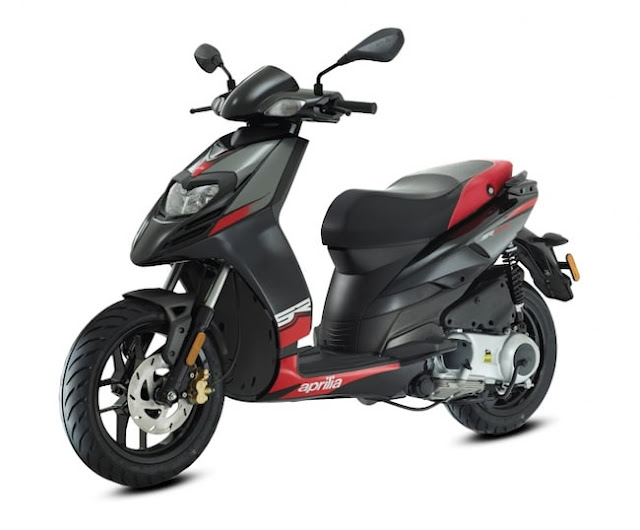 New Aprilia SR 125 alloy wheel