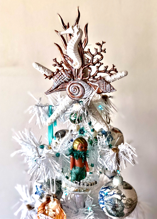 Coastal Christmas Tree Topper Ideas Diy Shop Coastal Decor Ideas Interior Design Diy Shopping