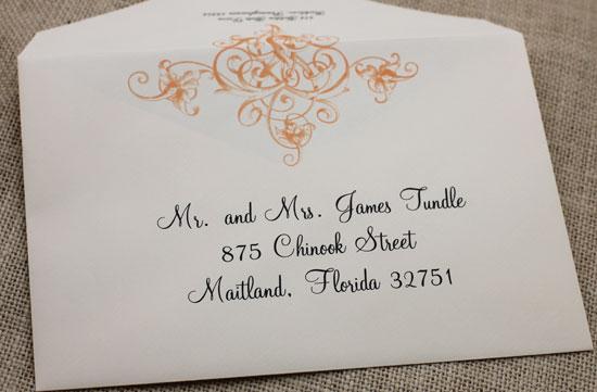 Printing Wedding Invitation Envelopes At Home: Blush Paperie: Envelope Design Printing