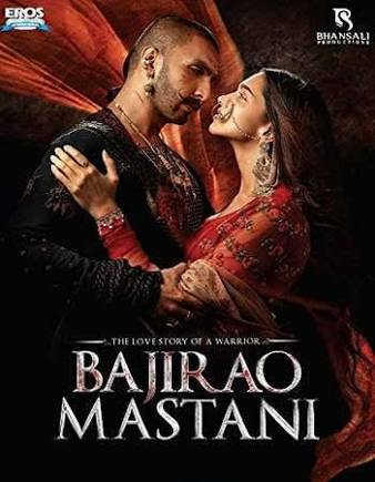 Bajirao Mastani 2015 Hindi 480P BrRip 450MB