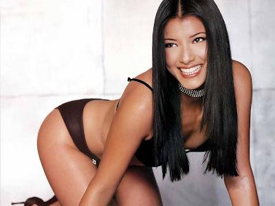 Kelly Hu bikini