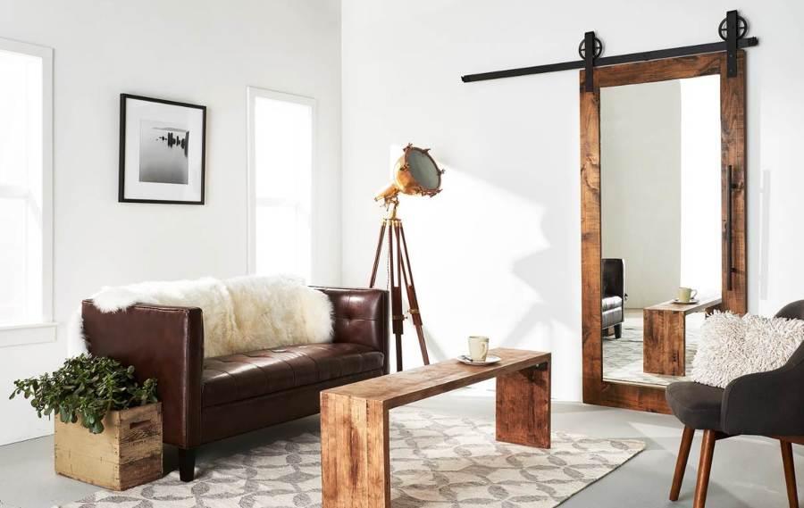 Marzua c mo emplear espejos para agrandar su casa for Espejo pared completa