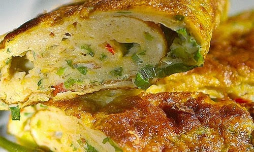 resep telur dadar padang enak asli resep masakan enak Resepi Kuih Telur Penyu Enak dan Mudah