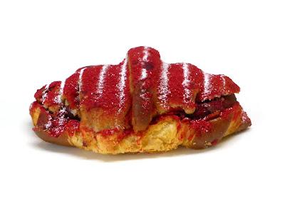 フランス産赤桃のクロワッサン | LE PAIN de Joël Robuchon(ル パン ドゥ ジョエル・ロブション)
