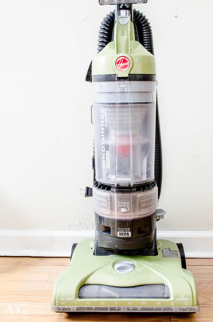 This vacuum cleaner looks and runs like new again now that it has been cleaned.  Learn the steps you can take to keep your vacuum clean at www.andersonandgrant.com