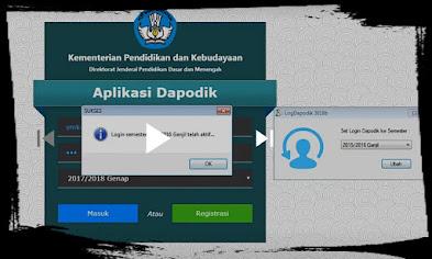 LogDapodik 2018b Aplikasi Login Dapodik Semester Sebelumnya