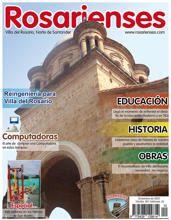 Proyecto de Revista Digital de Rosarienses para el 2013 se devela | Rosarienses, Villa del Rosario