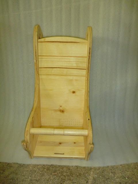 wird an normalen Stuhl gehängt