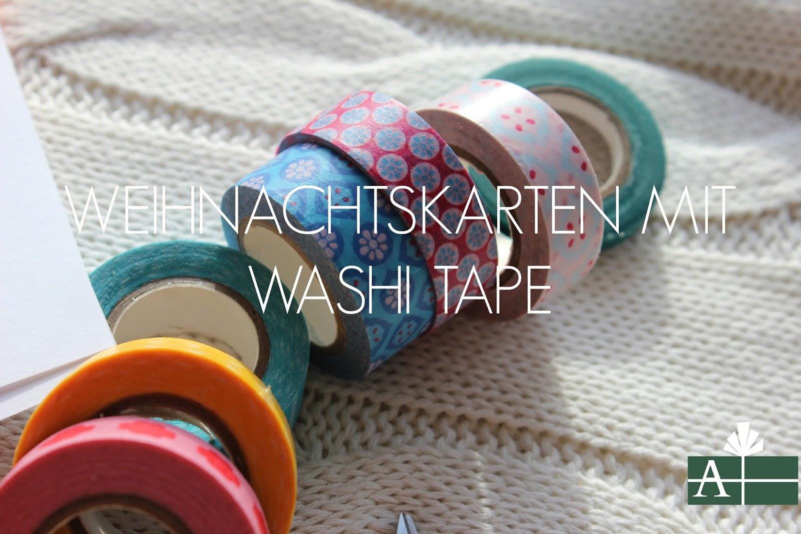 kusselina weihnachtskarte mit washi tape blog. Black Bedroom Furniture Sets. Home Design Ideas