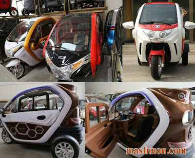 Motor Matic 3 Roda hadir di Indonesia dengan harga hanya 18.5 juta