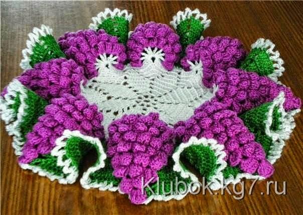 Tejer Crochet Tapete Un Como