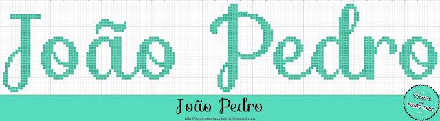 Nome João Pedro em Ponto Cruz