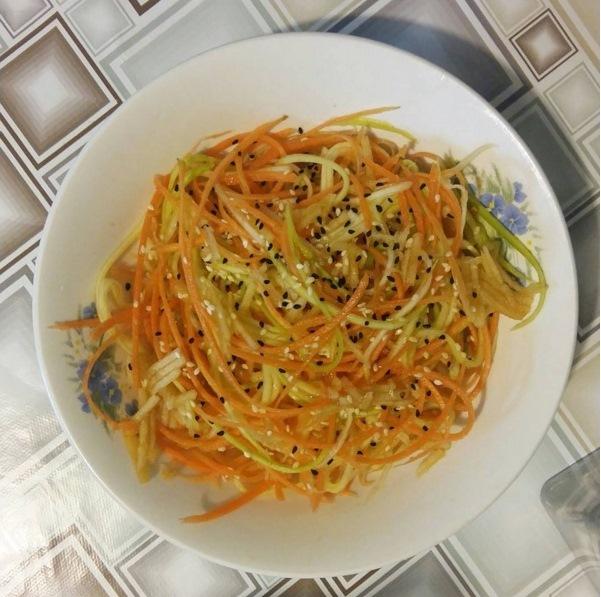 Zuccini salad