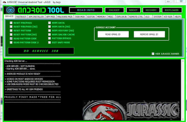 Download  Universal Android Tool V6