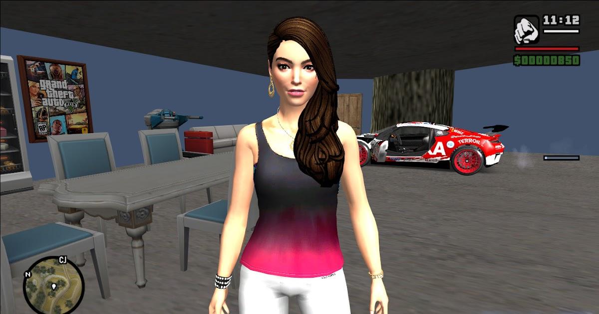 Skin Momiji Gta Sa: GTA-SA-Modificaciones: Skin Female From The Sims 4