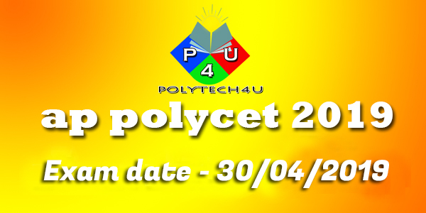 ap polycet exam notification 2019@ fee and exam date