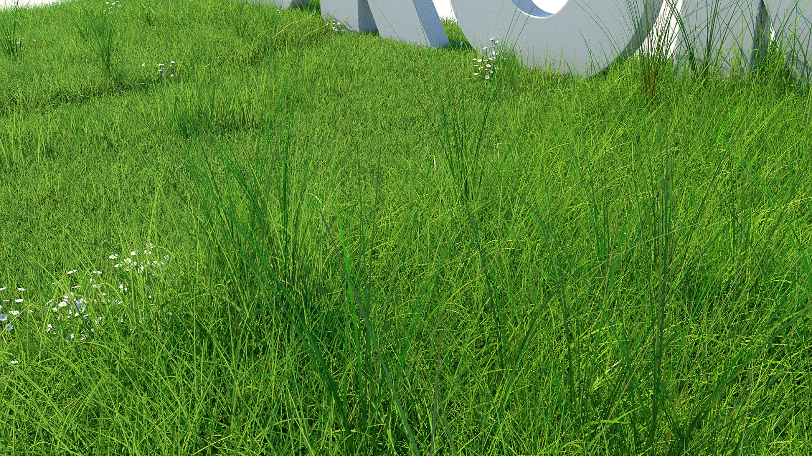 Grass Kit III for C4D and Corona render