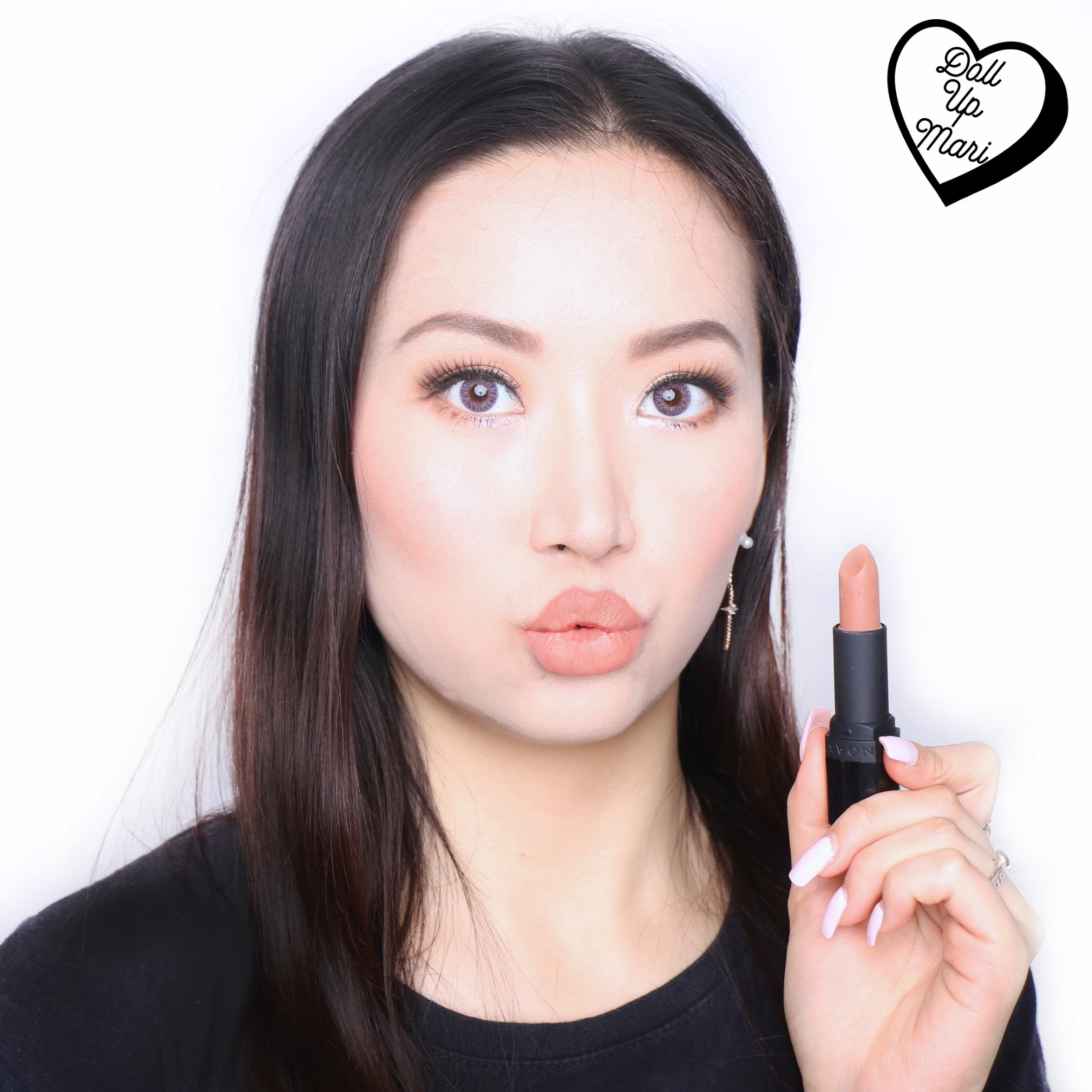 AVON Perfectly Matte Nudes Lipstick (P507-Nude Suede